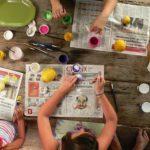 atelier creatif anniversaire enfant peinture