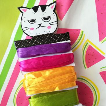 DIY mon idée de rangement pour ruban