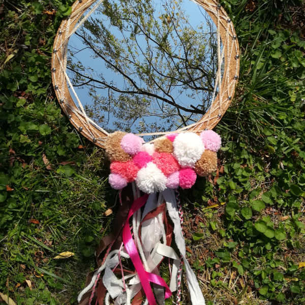 diy tuto miroir dreamcatcher attrape reve lumineux