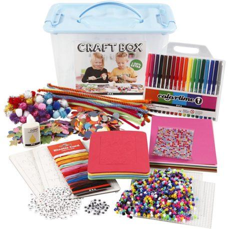 kit loisir creatif diy enfant dessin perle a repasser bijoux puzzle pompon