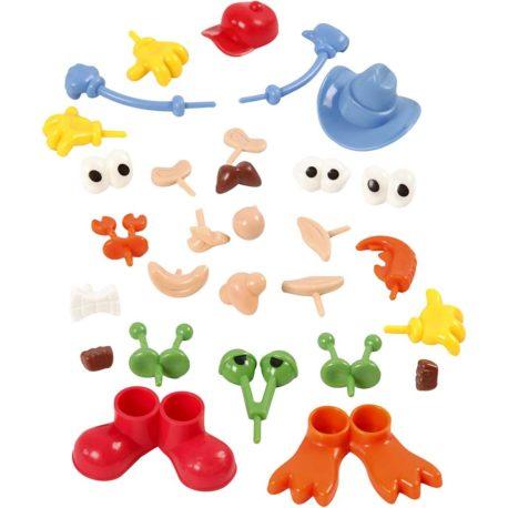 kits loisirs creatif outils modelage partie du corps