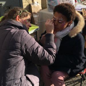 animation maquillage enfant camping anniversaire fete ales nimes gard herault lozere ardeche drome