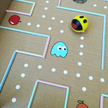 DIY Jeu labyrinthe coopératif Pac Man géant