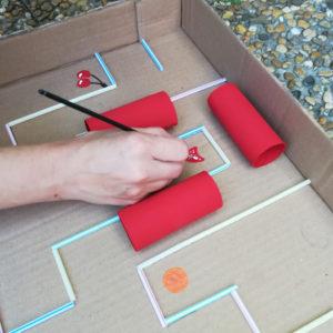 peinture-fruits-pac-man-carton