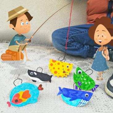 DIY loisirs créatifs Jeu de la Pêche aux canards