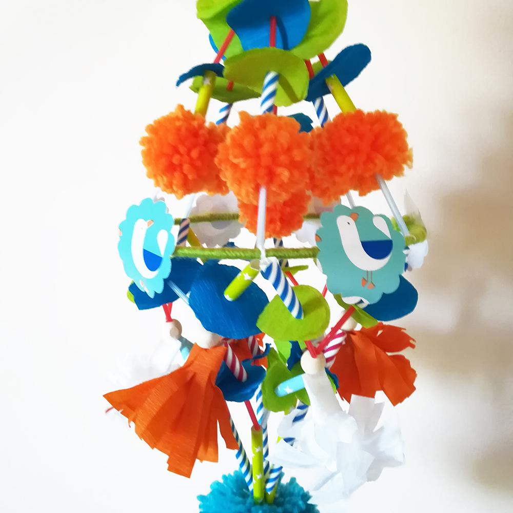 atelier creatif mobile pajaki decoration