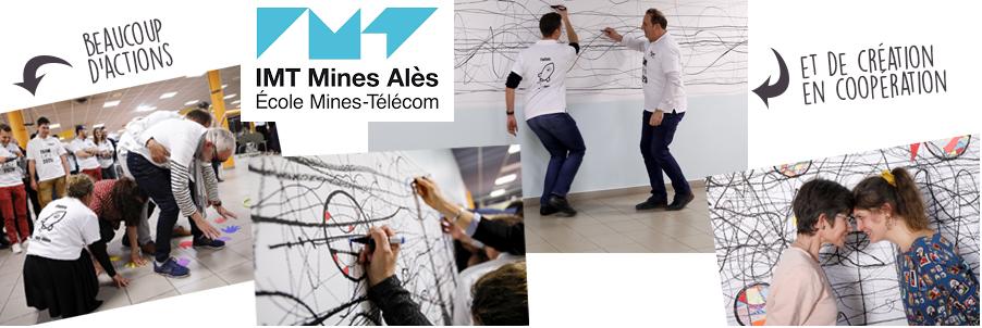 team building seminaire creatif ecole des mines ales nimes montpellier avignon