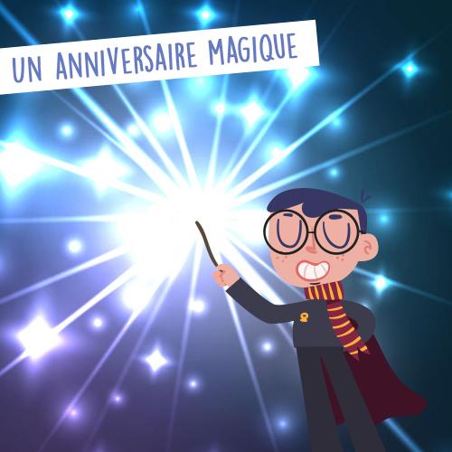 anniversaire atelier spectacle magie ales nimes