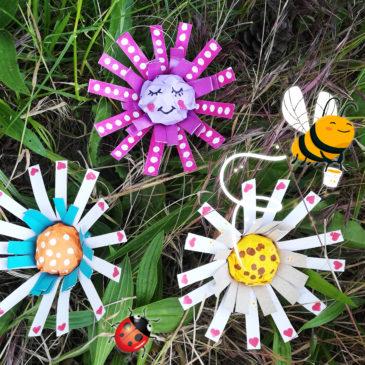 DIY Les fleurs surprises pour la fête des mères