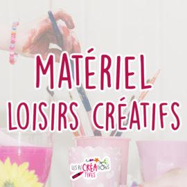 cover materiel loisir creatif