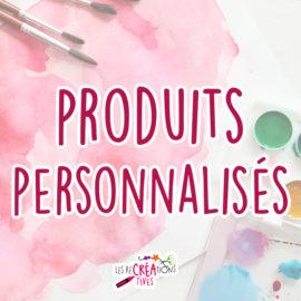 cover produits personnalisés
