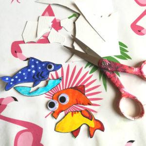decouper les poissons