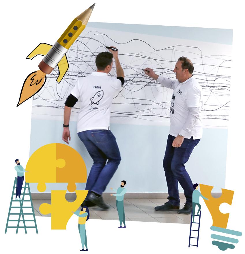 teambuilding seminaire creatif nimes montpellier avignon marseille