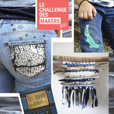 Comment recycler son vieux jean avec les sœurs Denim