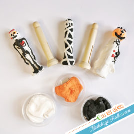 kit creatif modelage halloween