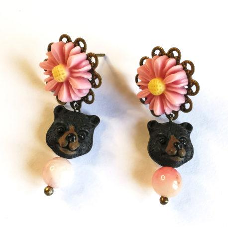 boucles d'oreilles createur conte de fee boucles d'or et les trois ours