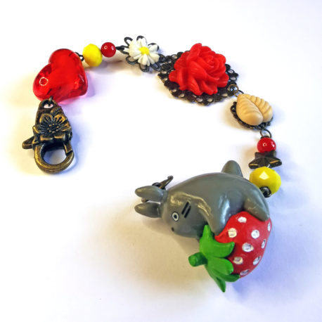 bracelet manga kawaii figurine totoro
