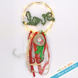 kit creatif attrape reve dreamcatcher noel