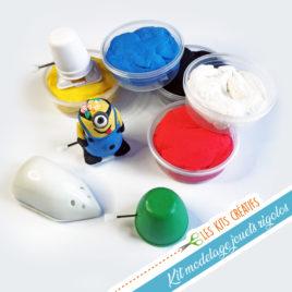 kit creatif enfant modelage jouet mecanique