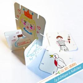 kit loisir creatif bricolage enfant fabrique conte de fées