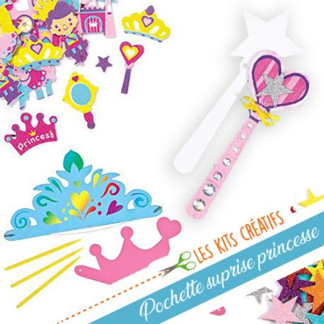 pochette surprise loisir creatif fille princesse