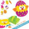 pochette surprise loisir creatif decoration bricolage facile paques enfant