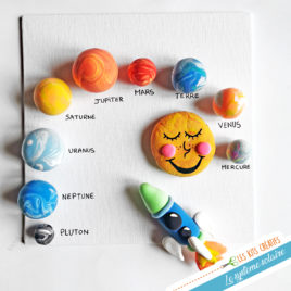 kit creatif bricolage enfant box loisir creatif planete systeme solaire